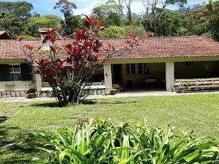 Bem-te-vi, casa aconchegante no Itaipava Country Club