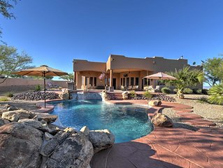Tranquil Scottsdale Home w/Private Pool & Hot Tub!