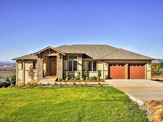 NEW! Chic Willamette Valley Home w/Deck & Vineyard