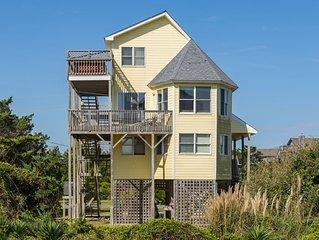 Sandy Paws - Modern 4 Bedroom Semi-Oceanfront Home in Avon