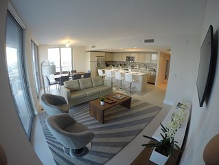 Hallandale Beach New Condo 2,197 Sq.ft. 3 Bed / 3 Bath With Balcony