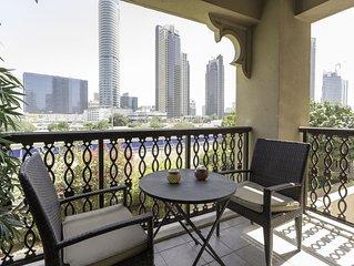 Luxury 1BR near Burj Khalifa!
