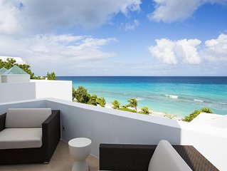 Beachfront with Private Stairway to Beach, Heated Jacuzzi by Pool, Tennis Courts