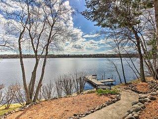 Brainerd Lakes Cabin on 2-Acres w/Dock & Fire Pit!