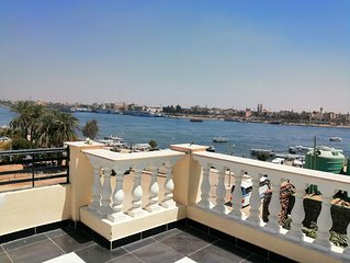 Nile Jewel Suites Fully Serviced Luxury Nile view Apartment. With 2 bedrooms