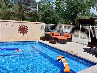 Rustic Death Valley 3bd/2ba Family Home w/ Pool & Hot Tub