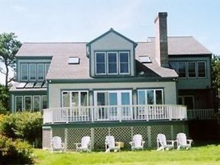Fashionable Beach House: Great Views, Interior, & Grounds,