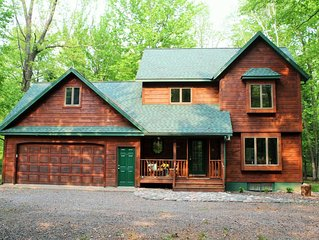 Northwoods Get Away!  Enjoy the privacy of this property next to Big Lake Chetac