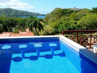 Spacious ocean-view villa with private pool.