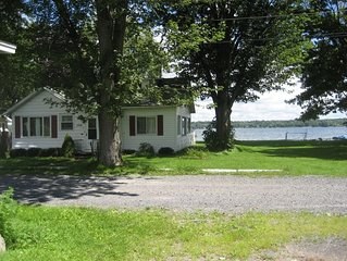 PET FRIENDLY! Over 100' Level Private Lakefront on 2 Acres w/Panoramic Views