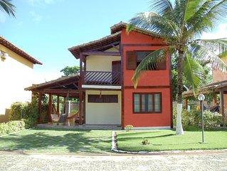 Casa Mobiliada em Condomínio Fechado na Praia de Taperapuan