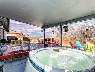 Spacious 5BR Boise Home w/ Private Hot Tub!