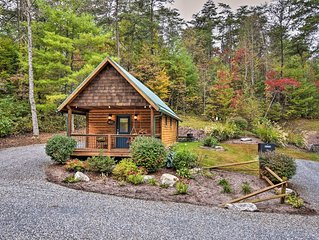 Dog-Friendly Weaverville Cabin on 17 Serene Acres