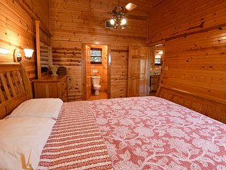 Heartwarming lodge with Frio Springs access