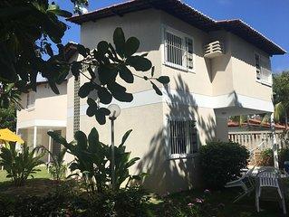Linda casa duplex em Tamandare, a 200 metros da praia de aguas mornas.