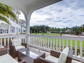 3 bedroom family villa at Placencia