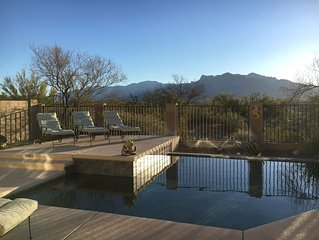 Relax at Desert Dream w/Mountain Views, Private Saltwater Pool & Nurturing Spa