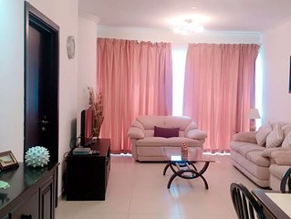Cozy 1 BHK in JLT (2 min Walk to Metro Station)