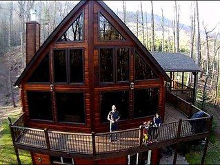 4 BR Mountain Views w/access to Watauga Lake