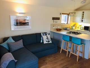Newly decorated beach cabin on the Wild Atlantic Way - for couples and families