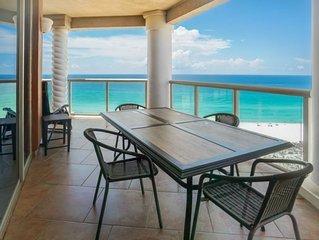 P1-1401 Gulf Front 3B * Portofino! Includes Beach Chairs!