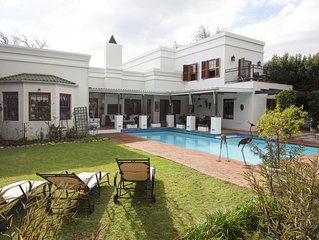Luxury fully furnished villa with private pool and spacious garden