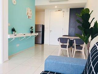 Premier Suite (1R1B) | 500m Bukit Bintang | KLCC | Rooftop Pool