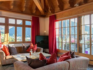 Luxury & cosy duplex penthouse residence Seehof in the heart of Davos