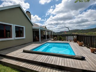 Welcome you to Hubert's Haus, your holiday 'Home' in idyllic Knysna.