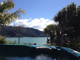 Living in a picture, Whangaroa Harbour