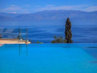 Villa Belvedere, a hidden paradise in Corfu. High luxury villa with amazing view