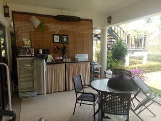 Seaview ,Beach front ,Private room (no 3), in big house