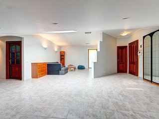 Spacious three-bedroom apartment