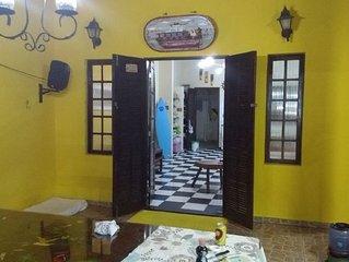 Casa mobiliada Praia de Boraceia Temporada Piscina, Ar condicionado.