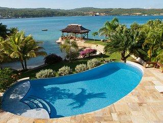 MAKANA VILLA JAMAICA  - Luxury 6 Bed Beachfront  Villa Discovery Bay - Staff Inc
