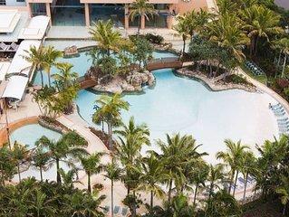 Crown Towers Resort - Large 2 bedroom unit - sleeps 5 - free WiFi