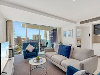 ⭐ Stay in the heart of Surfers Paradise! 2 Bedrooms⭐