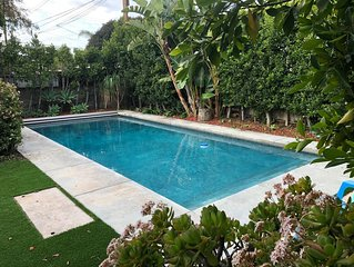 Sanitized and clean!! Resortlike Home in  N Hollywood w private backyard & pool