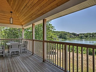 NEW! Waterfront Southhold Home w/ Sauna & Dock!