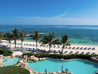 MAGNIFICENT OCEAN Views- 2 Bedroom Beachfront Condo  at The Reef Resort�