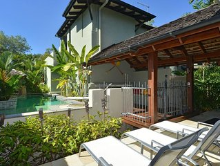 An exceptional high quality holiday retreat with  easy access to Four Mile Beach