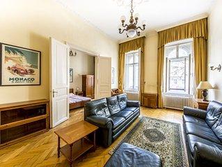 2 bedroom 2 bathroom flat * Oktogon