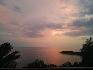Comfortable Mediterranean Villa with amazing sea views and art decor