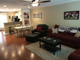 UGA Game Day Themed Condo