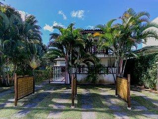 Residencial Ilhabela-Casas 2 suites até 8 pessoas - Barra Velha - 100 mts. balsa