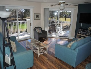 2 Bedroom/ 2 Bath Condo within walking distance to food, golf, and the Pool!