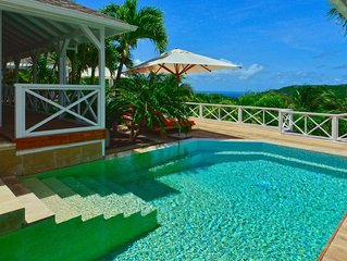 Caribbean Style Villa, Swimming Pool, Sundeck, Alfresco Dining Spaces and Lounge