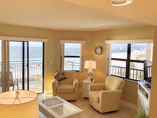 ABSOLUTE BEACHFRONT CONDO #1- BREATHTAKING VIEWS-CORNER UNIT  Available 4/11-18