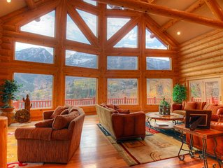 Lookout Pointe - Luxury Mountain Lodge - Panoramic Mountain Views