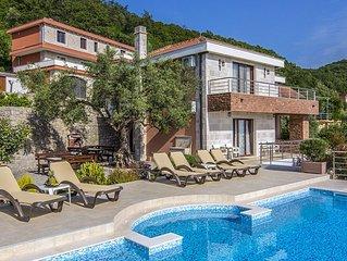 Luxury Villa Svinjista in Budva.